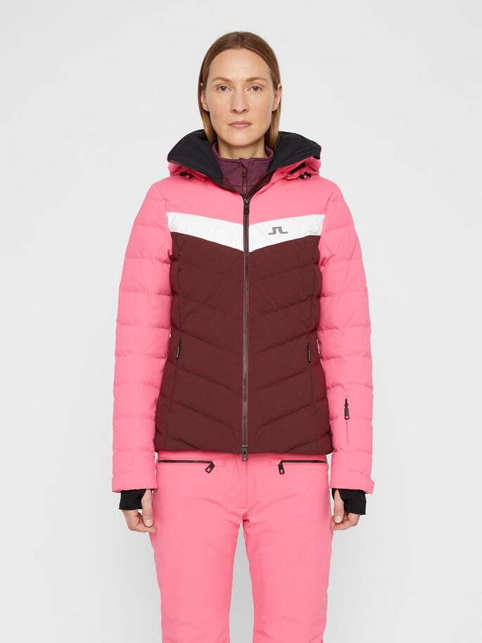 J.LINDEBERG Russel Down Jacket Hot Pink / Mocca