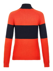 J.LINDEBERG Alva Sweater Racing Red