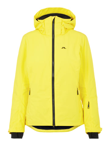 J.LINDEBERG Tracy Primaloft Jacket Banging Yellow