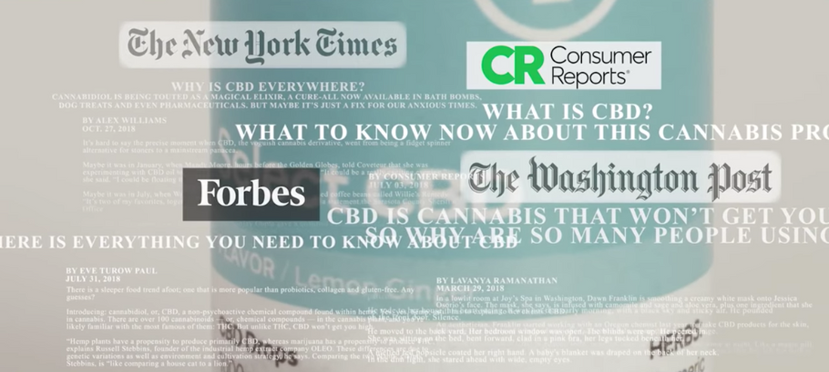 CBD Goes Mainstream Says Consumer Reports