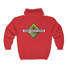 Load image into Gallery viewer, Green Grow Farms Merch - Unisex Heavy Blend™ Full Zip Hooded Sweatshirt