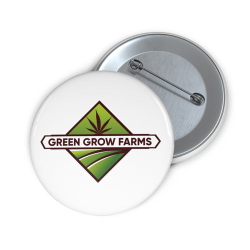 Green Grow Farms Merch - Pin Buttons