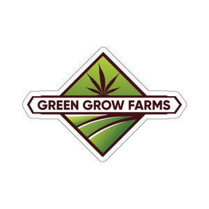 Green Grow Farms Merch - Kiss-Cut Stickers