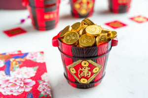 Gold Coin Barrel of Wealth (22mm) 金币满满