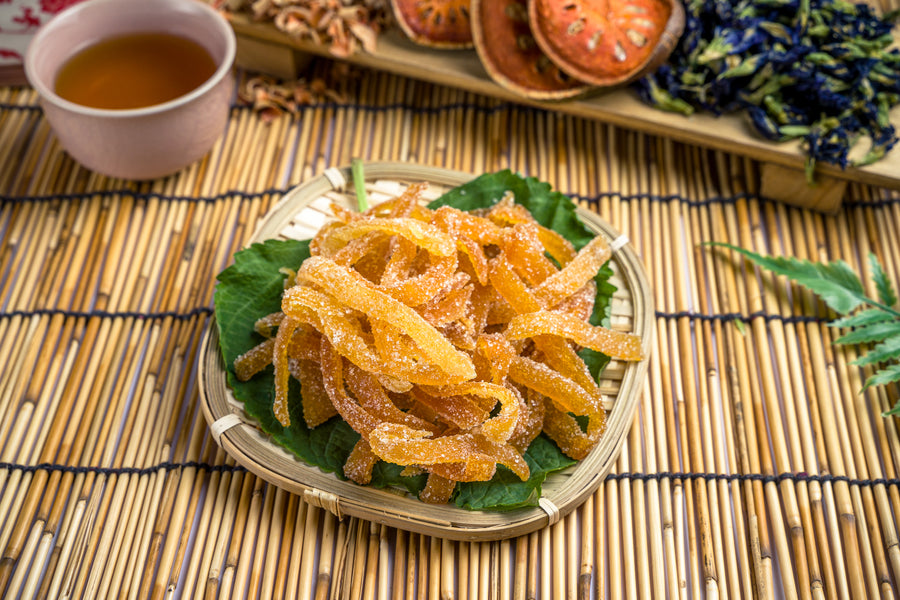 Spicy Tamarind Mango Slices