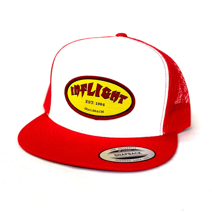 CLASSIC OVAL TRUCKER - RED