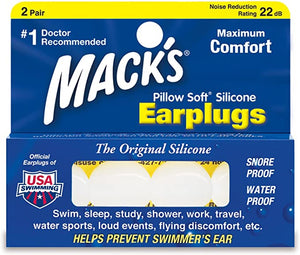 PILLOW SOFT® SILICON PUTTY EAR PLUGS