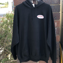 Load image into Gallery viewer, American Oval Hoodie Black