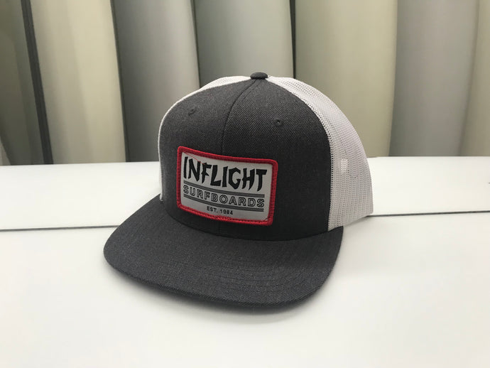 Patched Trucker Grey/Wht