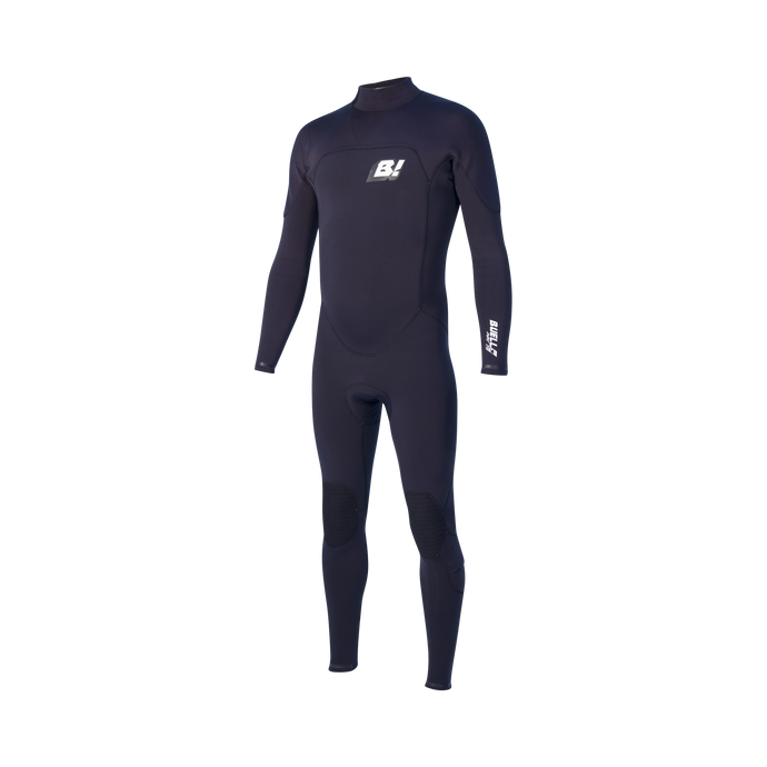 RBZ STEALTH MODE 3/2 FULLSUIT MENS - BLACK