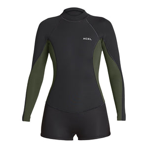 WOMENS AXIS LONG SLEEVE 2/1MM SPRINGSUIT