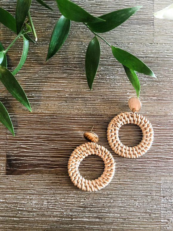 Bermuda Woven Earrings