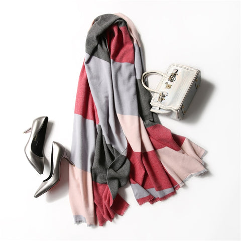 Winter Cashmere Scarf Fashion Women - Products From Nature
