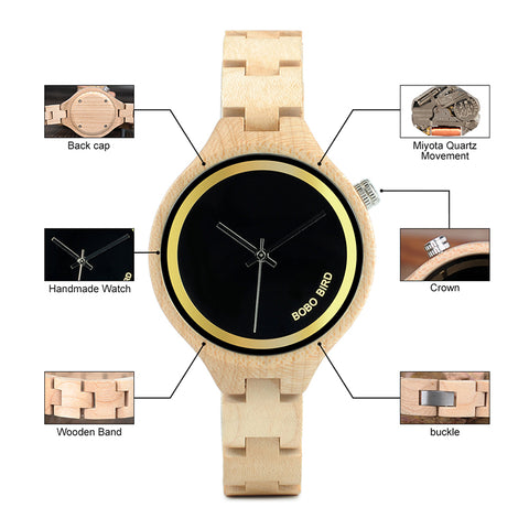 Luxery Wooden Watch - Products From Nature