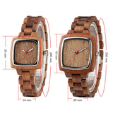 Walnut Wood Watch - Products From Nature