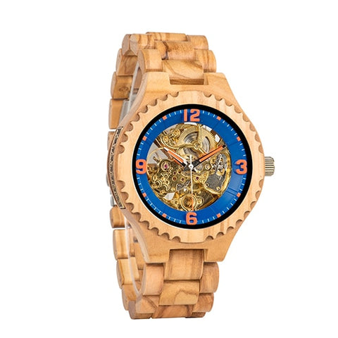 Wood Wristwatch - Products From Nature