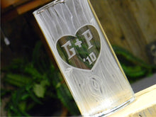 Load image into Gallery viewer, Custom Hand Cut Carved Tree Glass Vase