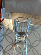 Load image into Gallery viewer, Monogrammed Shot Glass 1 oz