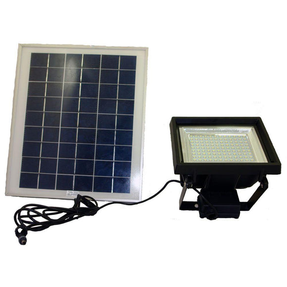 High Output Solar Flood Lighting