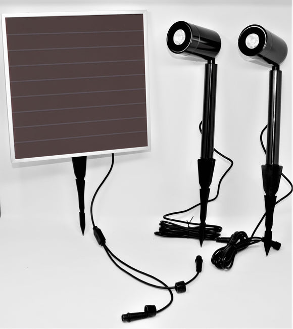 Executive Solar Spot Light, 2-Light Head