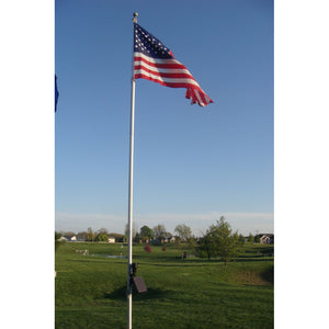Solar Powered Flag Light