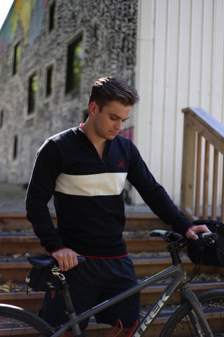 Men's Retro Riding Sweater