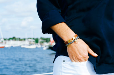 Watch Hill Anchor Bangle