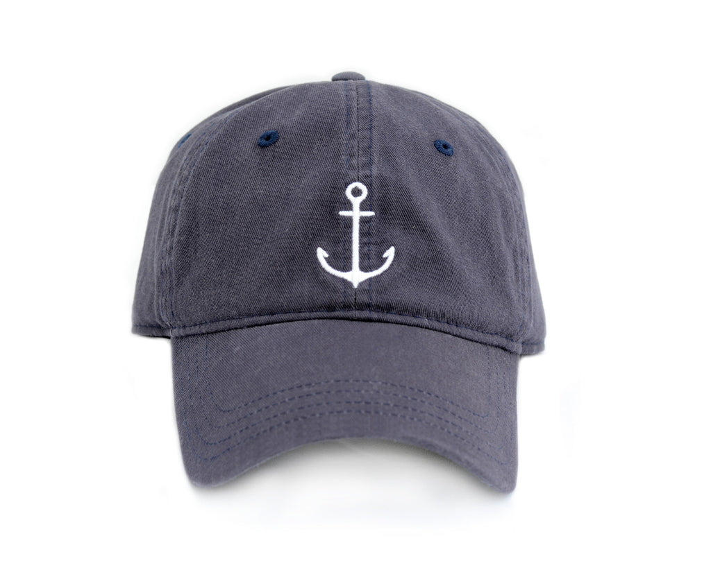 Lemon & Line Anchor Hat