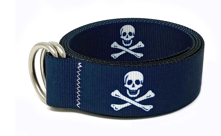 Regatta Belt Jolly Roger Deep Ocean