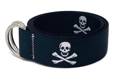 Regatta Belt Jolly Roger Orca Black
