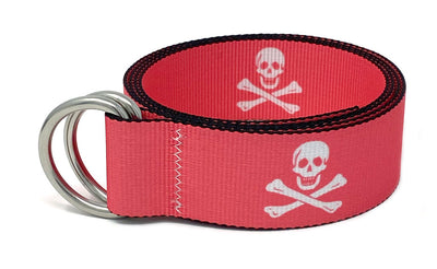 Regatta Belt Jolly Roger Pink Sands