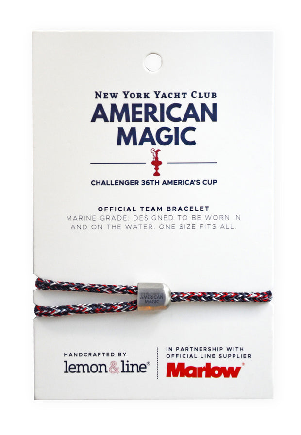Official Team Bracelet: New York Yacht Club American Magic