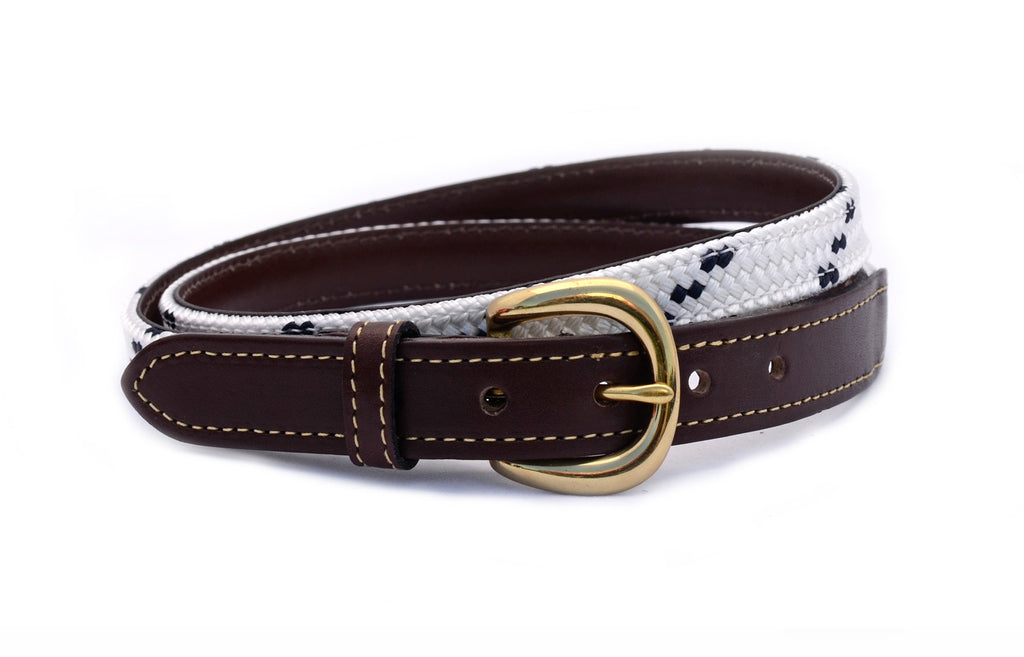 Leeward Belt: Dacron White