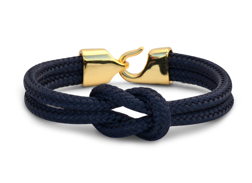 collection italy yellow bracelet sail moonbeam o row product iv shackle black in rope handmade nautical sailo dots