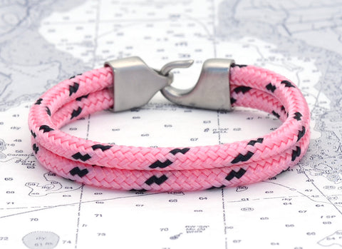 Newport Light Pink & Navy (Hitch)