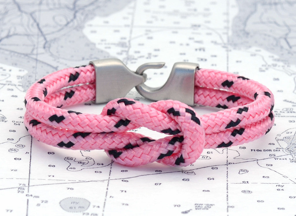 Newport Light Pink & Navy