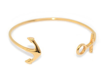 Limited Edition Watch Hill Anchor Bangle: Gold