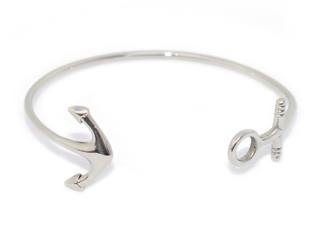 Limited Edition Watch Hill Anchor Bangle: Stainless