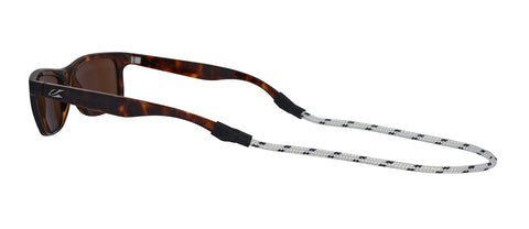 Sunglass Strap: White/Navy