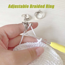 Load image into Gallery viewer, ADJUSTABLE KNITTING LOOP CROCHET LOOP KNITTING ACCESSORIES-Free shipping