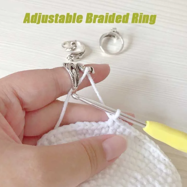 ADJUSTABLE KNITTING LOOP CROCHET LOOP KNITTING ACCESSORIES-Free shipping
