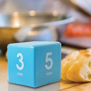 Cube timer for Time Management, Kitchen Timer, Kids Timer, Workout Timer. 1-3-3-10 /5-15-30-60 Min.--Free Shipping