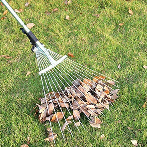 Garden Leaf Rake,Grass Rake for Lawn-Free Shipping