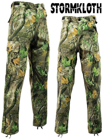 Stormkloth Camouflage Waterproof Camo Cargo Trousers