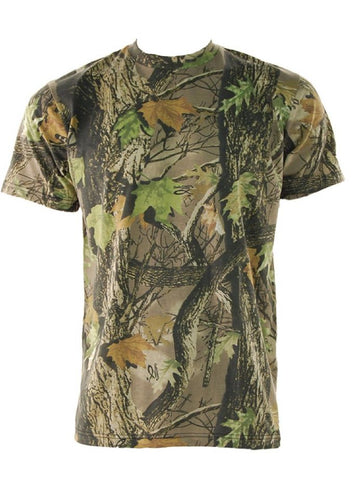 Men's Stormkloth Gods Country Camouflage Short Sleeve T Shirt
