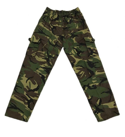 Kids Camouflage Camo Army Combat Trouser