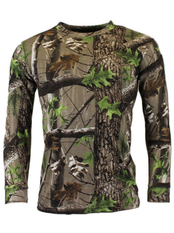 Trek Camo Camouflage Long Sleeve T Shirt