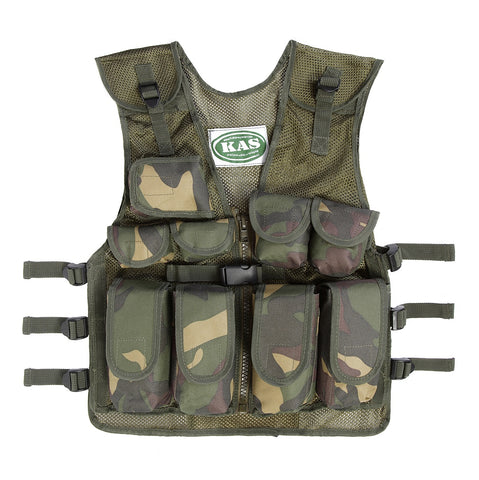 Kids Army Camouflage Assault Vest