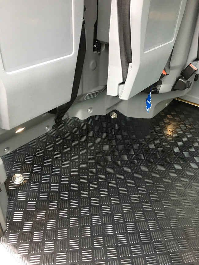 TXE Rear Rubber Mat
