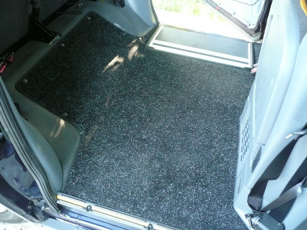 London Taxi LTI TX4 Rear Replacement Carpet Mat (2007-2010)